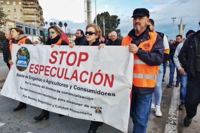 protesta agricultores puerto Algeciras