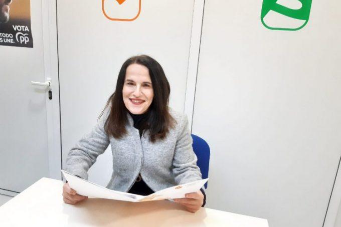 Pilar Lobato, del PP de Castellar