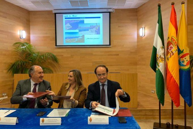 Firma del protocolo para el Lago Marítimo