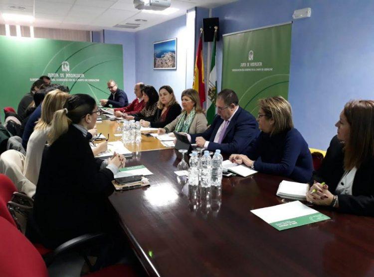 Imagen de la reunión en Algeciras