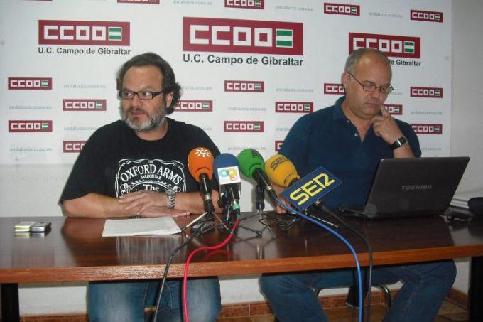 Sebastián Alcón y Pepe Díaz en rueda de prensa