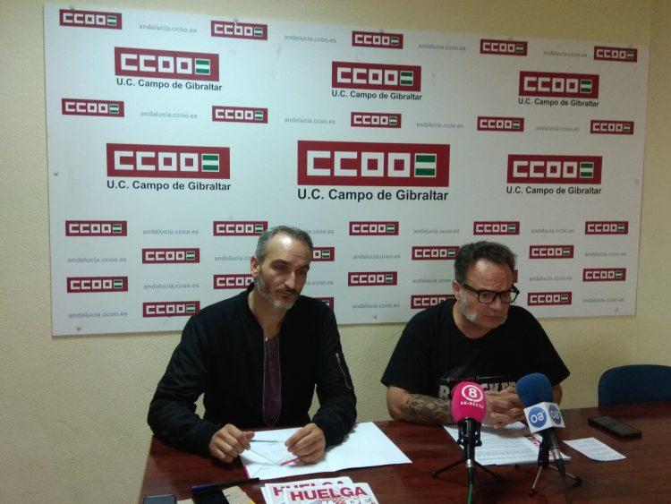 Sebastián Alcón, en rueda de prensa, llama a la movilización