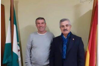 Jesús Fernández y Francisco Gil Sánchez, en Tesorillo