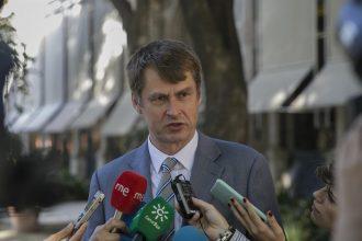 El embajador de Reino Unido en España, Hugh Elliot