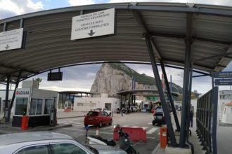 Imagen de la frontera a primera hora de la mañana