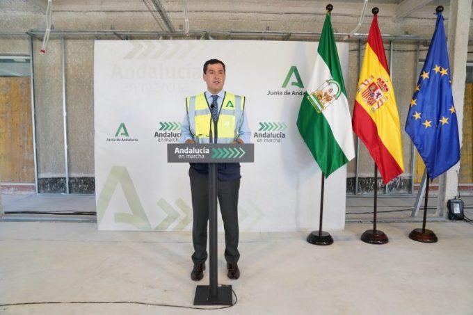 Juanma Moreno, Junta de Andalucía