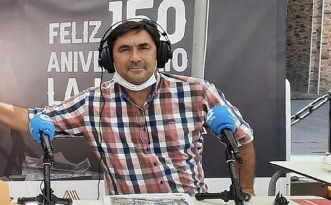 Josele Fernández, en programa especial del Diario Área en el mes de julio.