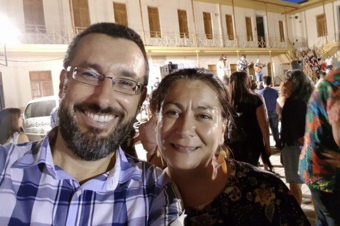 Juan Franco y Ceferina Peño. Archivo.