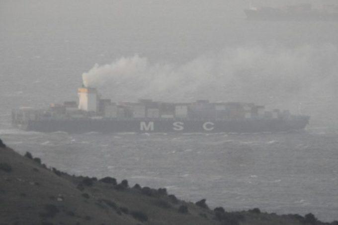 Imagen del buque denunciado por los ecologistas