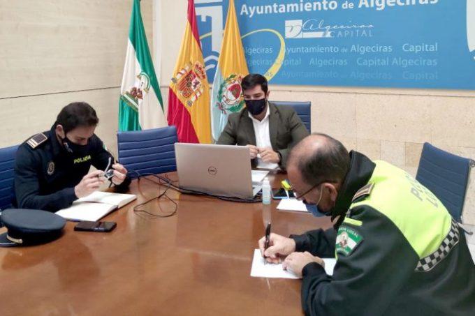 Jorge Juliá, Mesa Sectorial, Comisión Algeciras Sur