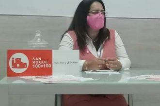 Mayte García, líder de San Roque 100x100