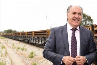 José Ignacio Landaluce tren