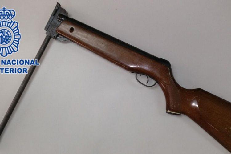 Escopeta de perdigones. Archivo.